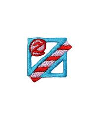 アップリケ アルファベット z