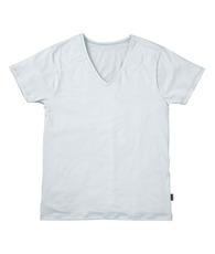 深V首半袖シャツ
