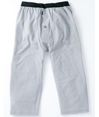 ひざ下丈パンツ(前開き)