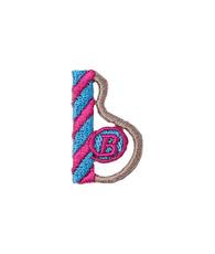 アップリケ アルファベット b